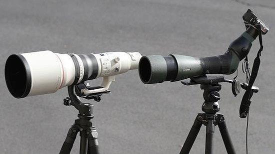 6万元望远镜对决8万元单反镜头 谁才是强者?