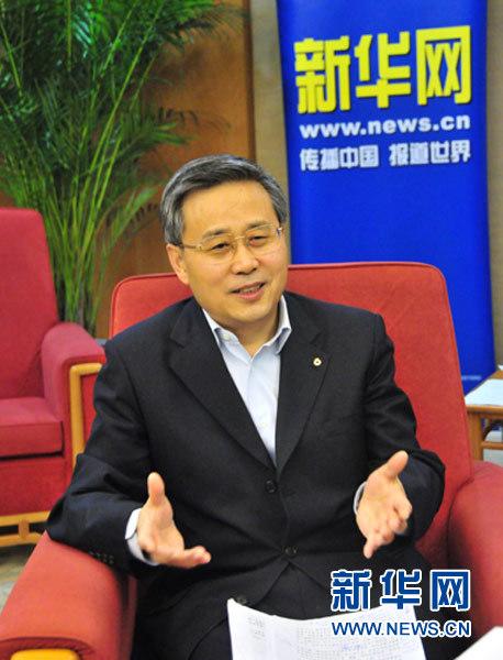 新华社专访:建行董事长郭树清回应11个热点问题(图)