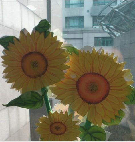 手工制作的太阳花,放办公室当装饰