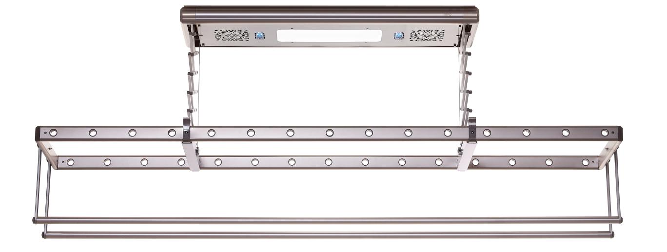 日丰智能晾衣架RF-LD1002(香槟金)