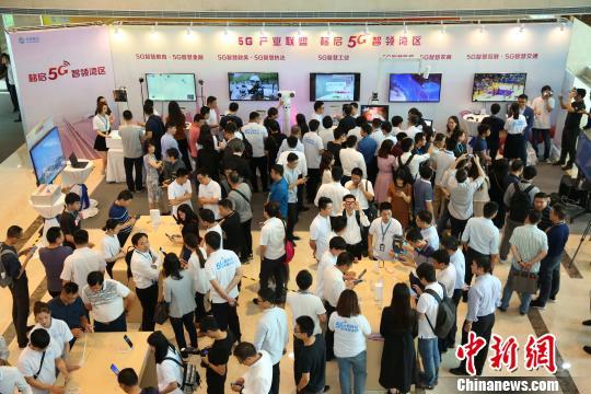 广东移动展示与各垂直行业5G应用合作成果 索有为 摄