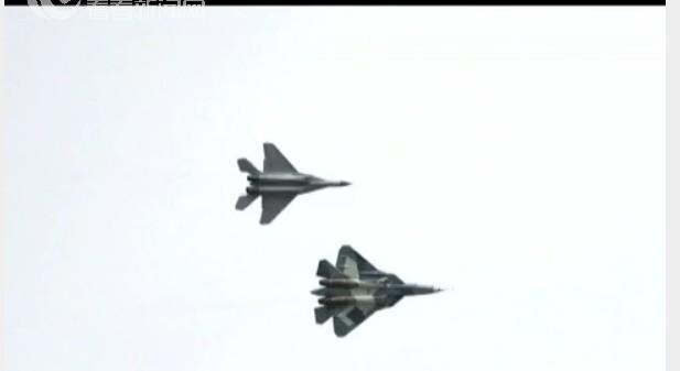 俄罗斯空军:第五代战斗机T-50亮相(视频)