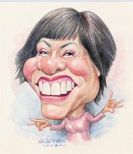 中国漫画漫画家们笔下的百姓漫画张学敏明星像最强v漫画少邪肖像图片